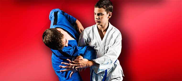 Kids Jiu jutsu sparring2 A Brief History of Judo